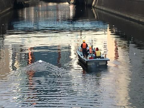 親舟と小舟?